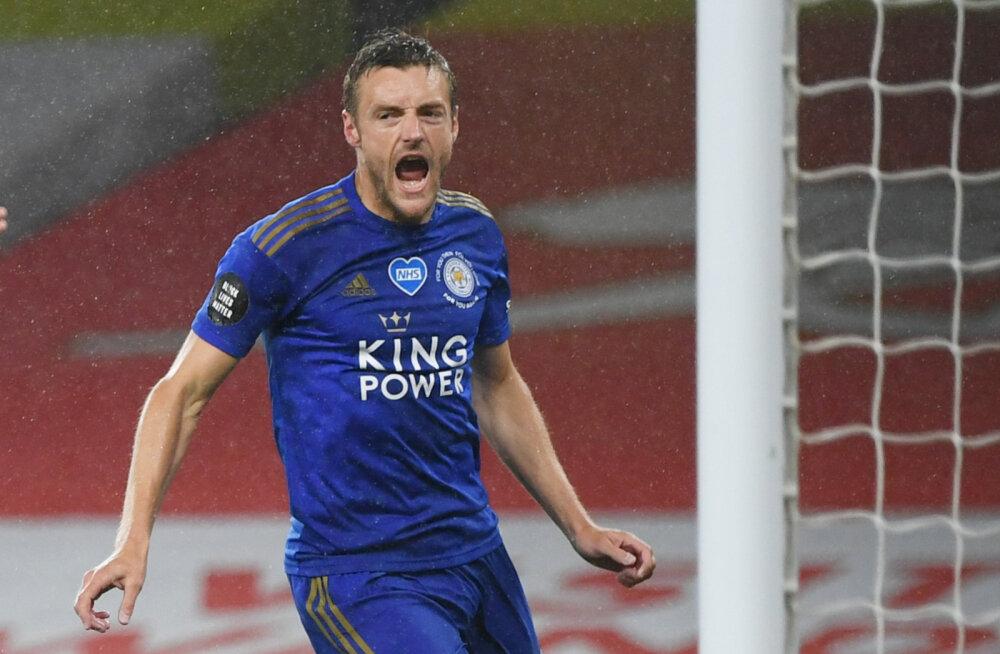 Chelsea teenis ülitähtsa võidu, Vardy jätkas Arsenali vastu võimast seeriat