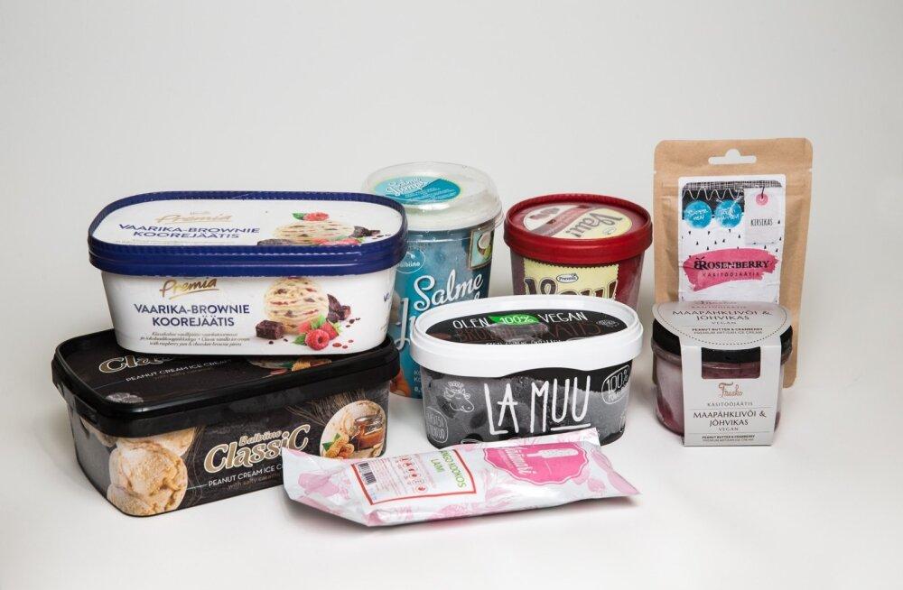Jäätisetest vegan vs. suurtootjad