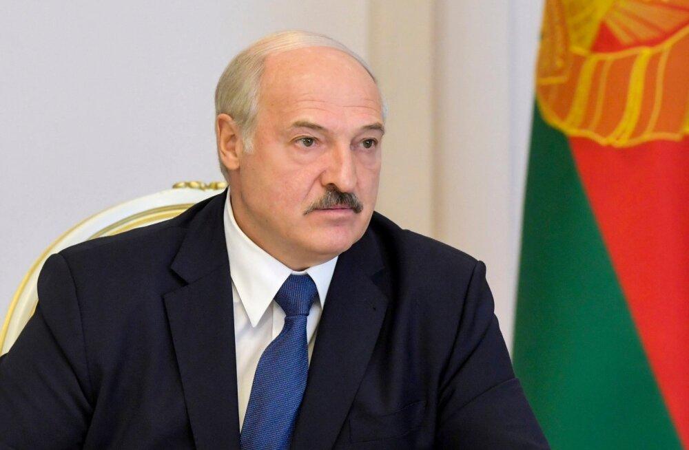 """Lukašenka kirjeldas põhjalikult USA juhitud """"Valgevene hävitamise stsenaariumi"""""""