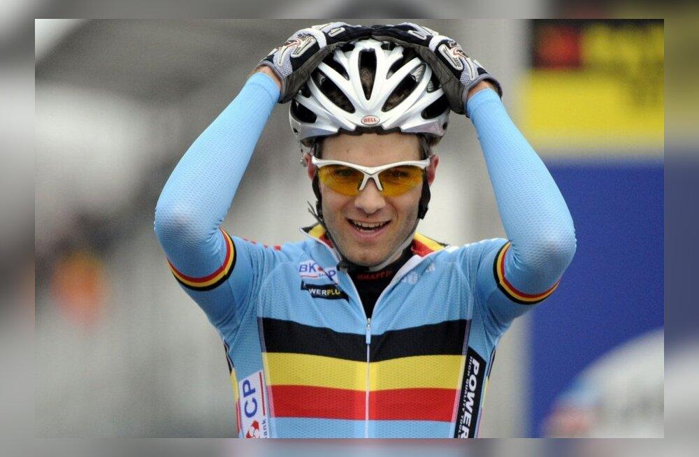 cyclo-crossi maailmameister Niels Albert