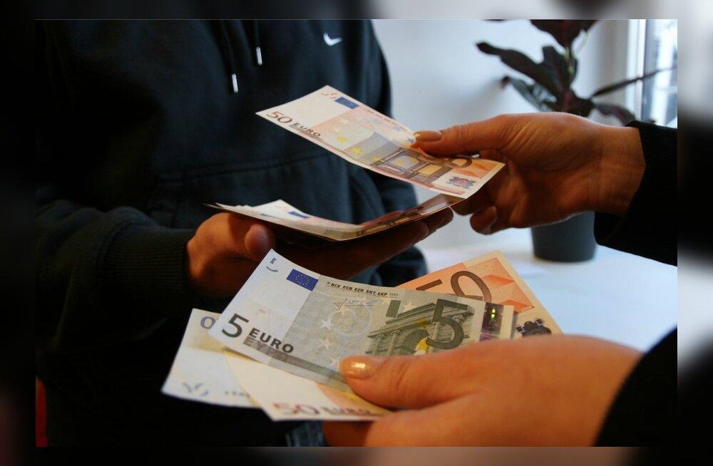 Juba pool Eesti SKT-st läheb palkadeks, ületades väga rikkaid riike nagu Rootsi või Saksamaa