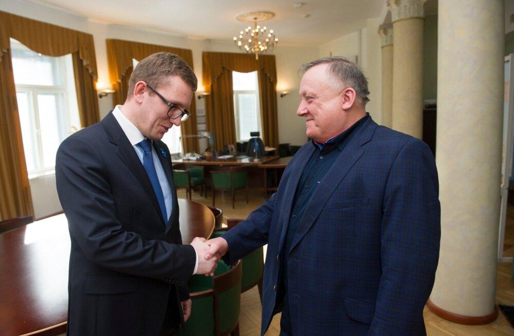 Majndus-ja Kommunikatsiooniministeerium.K.Michal ja V.Leedo