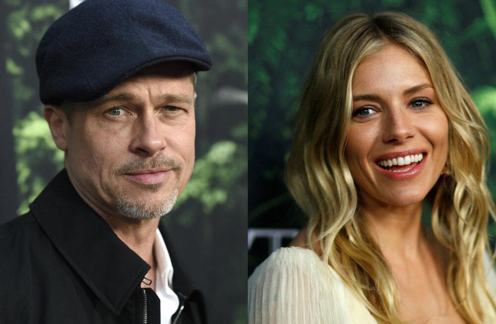 Hollywoodi suhtesahinad: Angelina juba unustatud? Brad Pitt veetis aega uue kaunitari seltsis