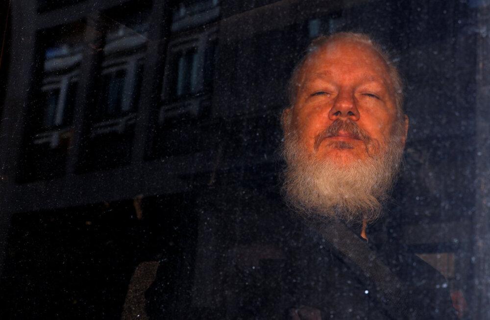 Rootsi prokuratuur taotleb Julian Assange'i vahistamismäärust