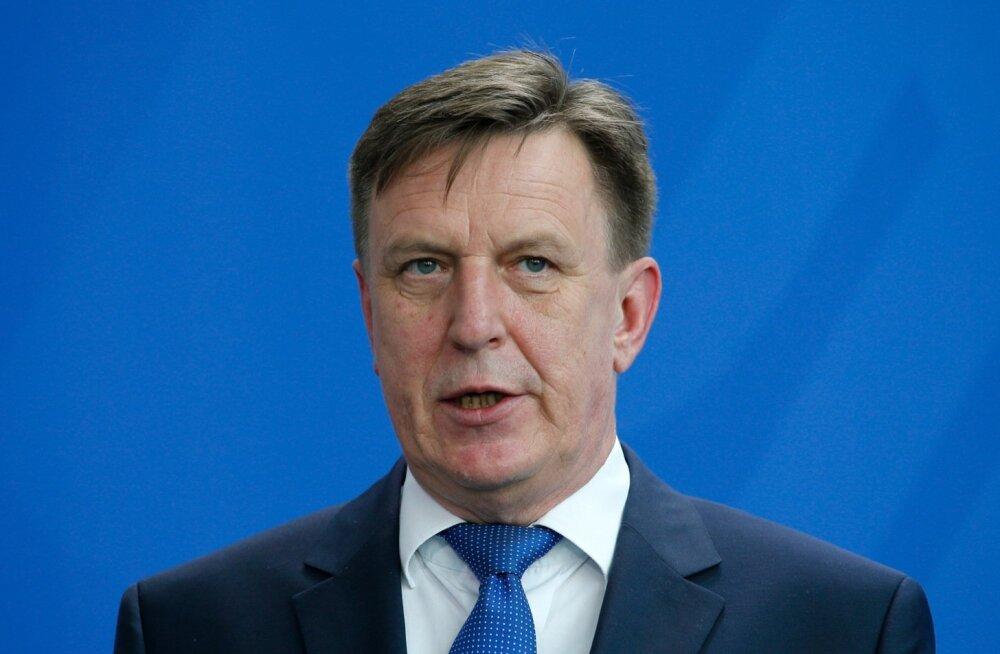 Peaminister Kučinskis: Eestil on aidanud Lätist ette jõuda kõrged moraali- ja poliitilised standardid