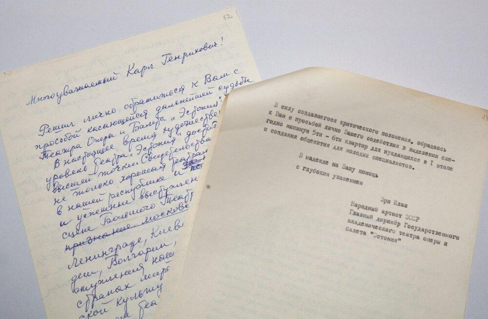 Eri Klasi kiri Karl Vainole aastast 1978.