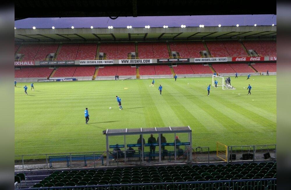 Eesti jalgpallikoondis Belfastis
