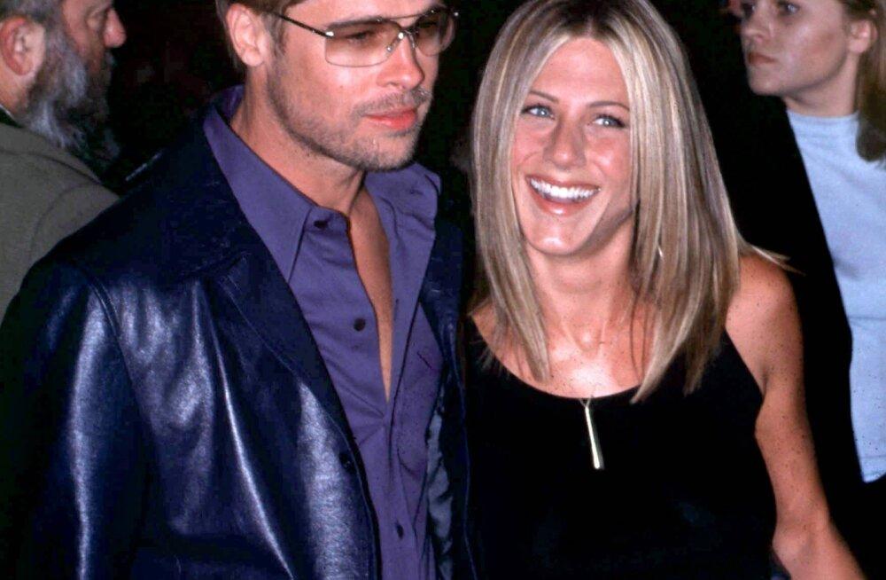 Piinlik moment   Jennifer Anistoni eksmees avastas abielu ajal salajased armastuskirjad Brad Pitilt