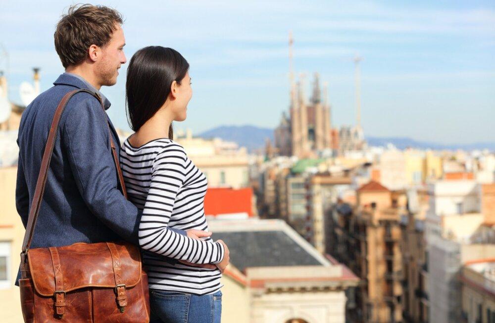 Путешественники выбрали самые романтичные направления