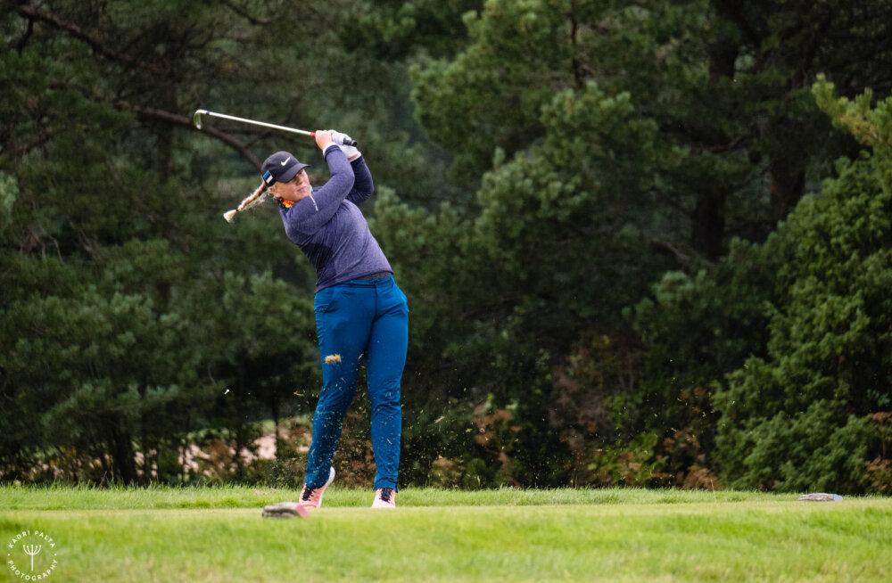 Eesti golfi meistrivõistluste avapäeva valitsesid koondislased
