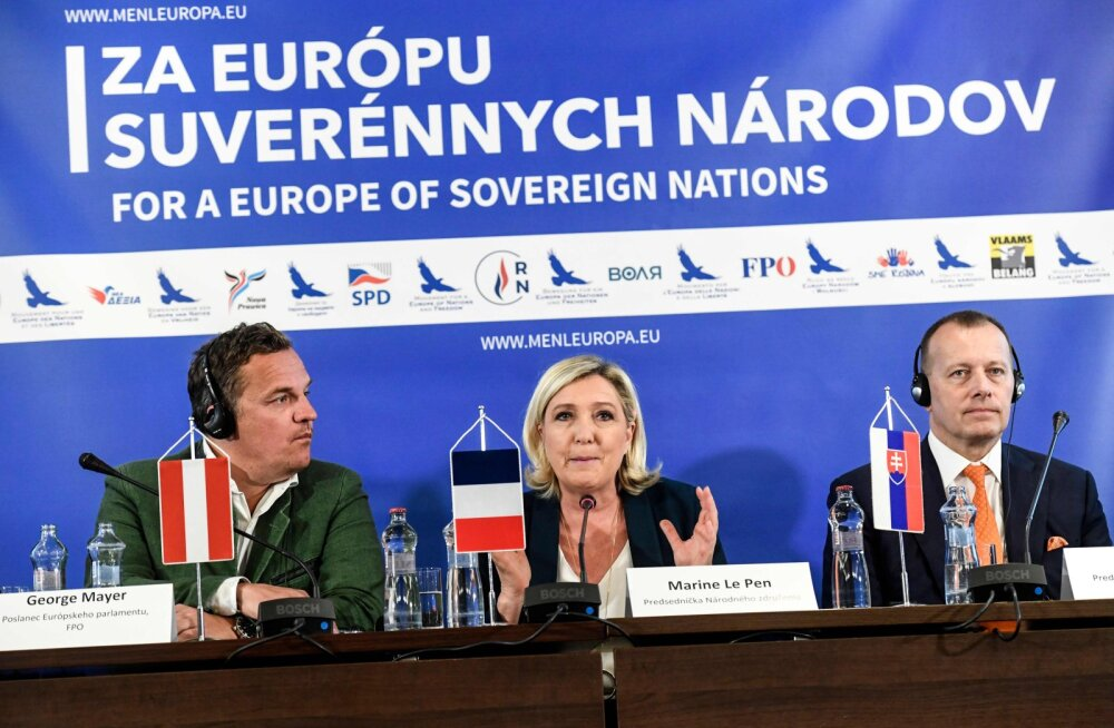 Le Pen Bratislavas: rahvas lükkab autoritaarse visiooni EL-ist kui vanglast tagasi