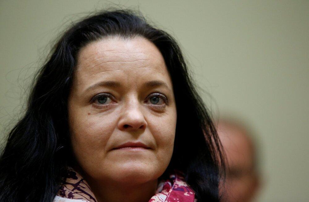 Saksa neonatside terrorirakukese liige Beate Zschäpe mõisteti mõrvade eest eluks ajaks vangi