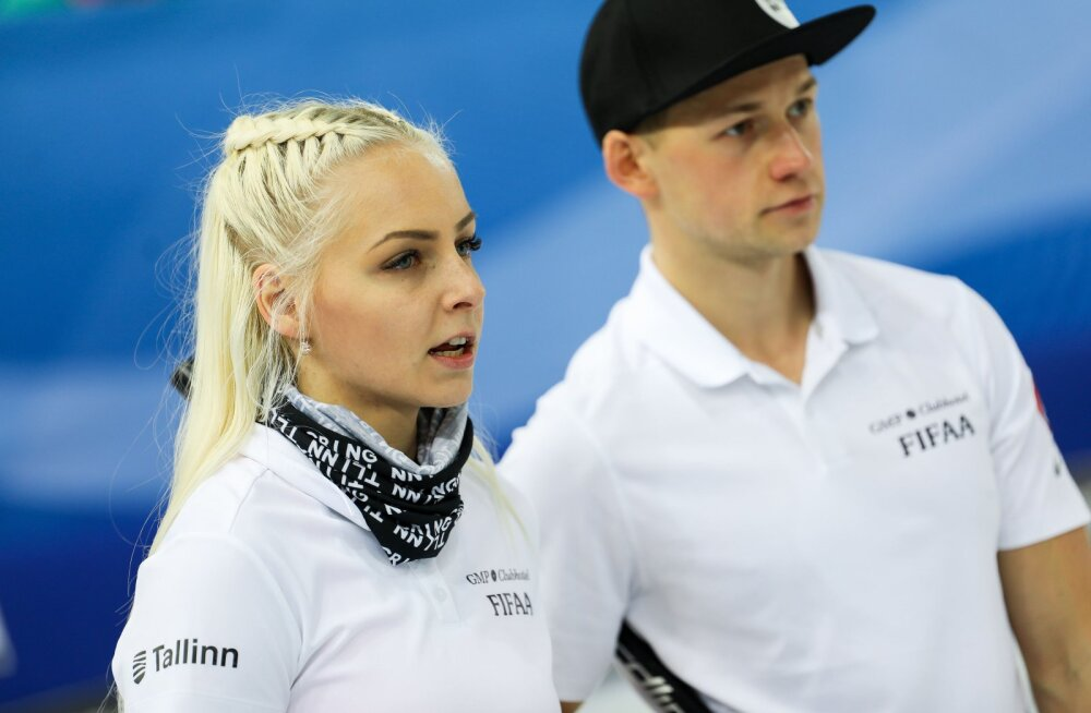 Eesti kurlingupaar tuli MK-etapil teiseks