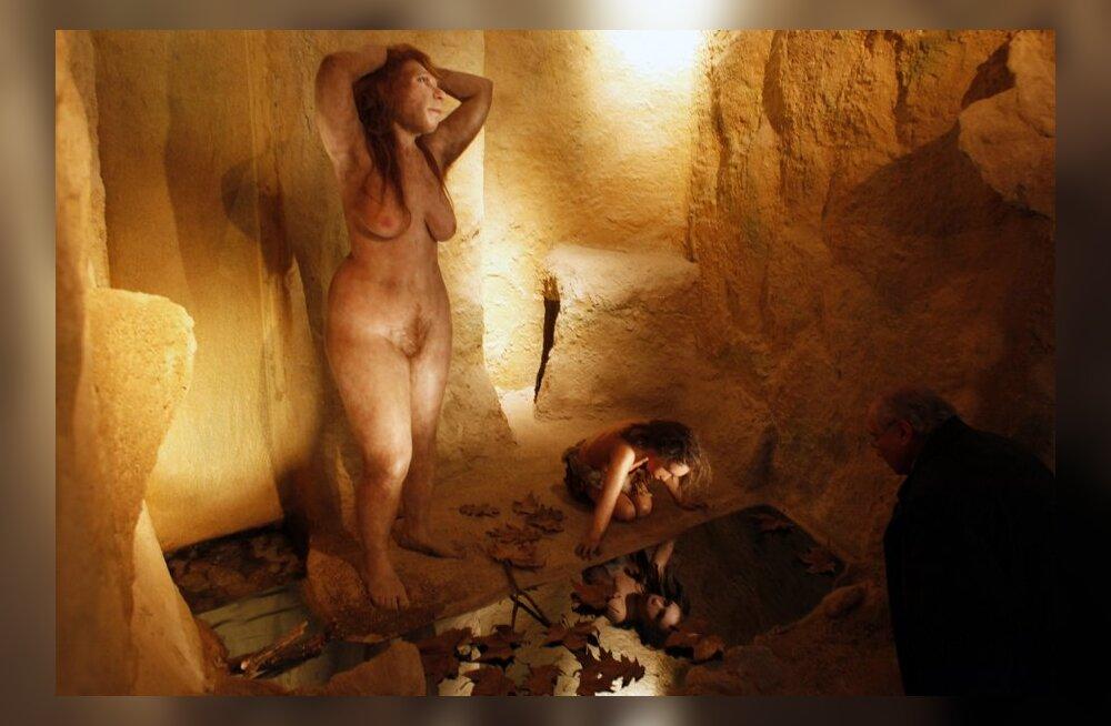 Kuidas inimeste esivanemad alasti välja nägid
