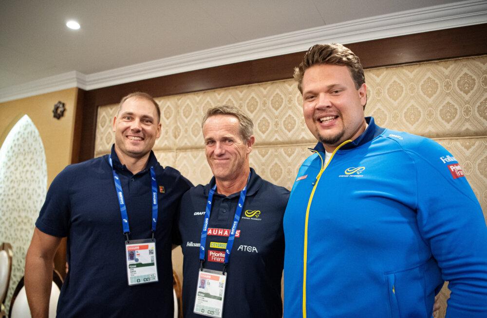 Tormihoiatus konkurentidele: Kanteri endise treeneri sõnul heitis Rootsi vägilane treeningul uue maailmarekordi