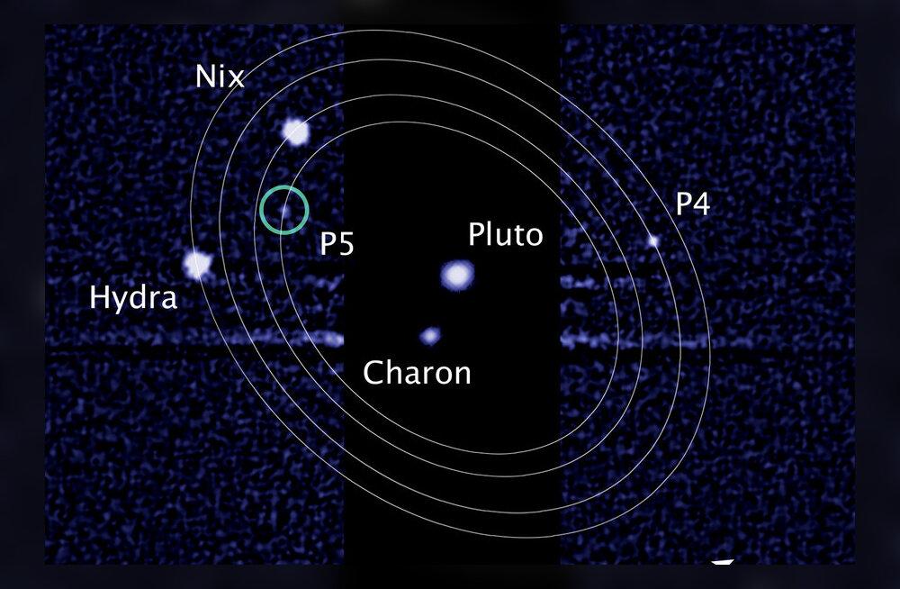 Anna oma hääl: Pluuto kaks kuud vajavad endale nime