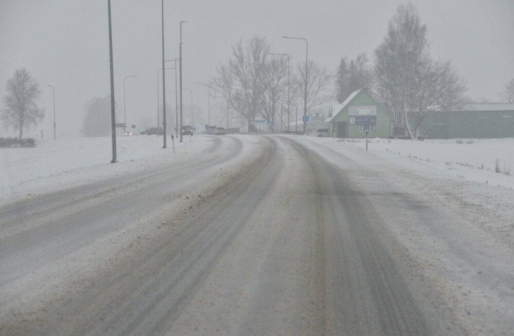 Teeolud Viljandimaal