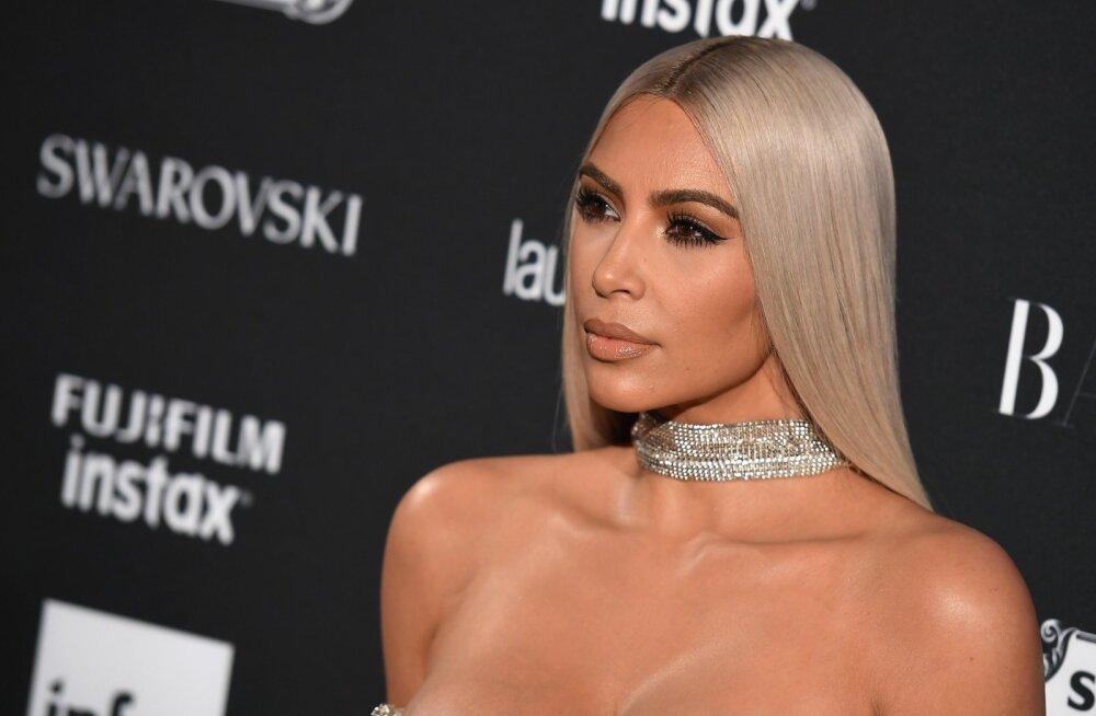 KUUM KLÕPS | Kim Kardashian West õrritas vaevu kaetud figuuriga