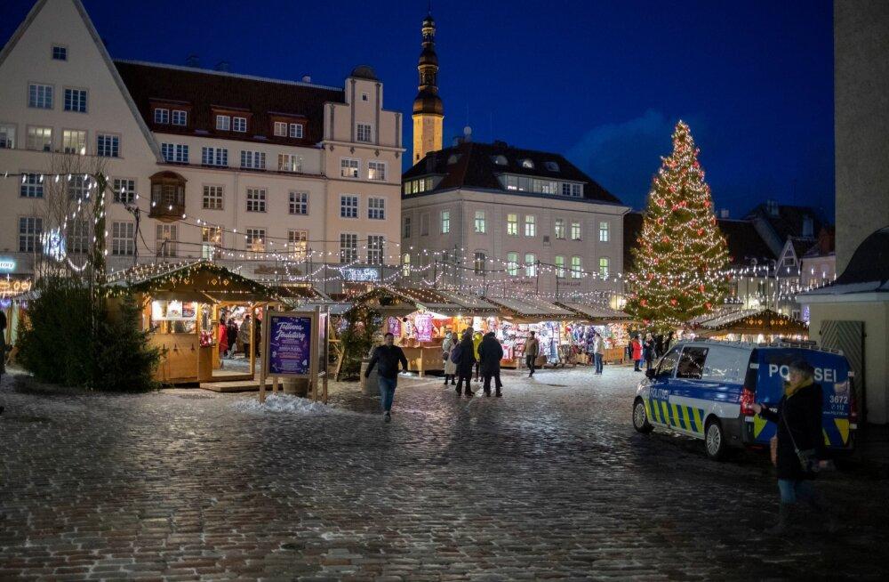 Tallinna jõuluturu hinnad 2.12.2019