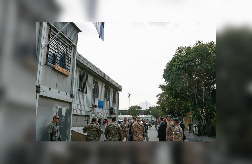 Ратас: наши военные в Афганистане вносят вклад в нашу собственную безопасность
