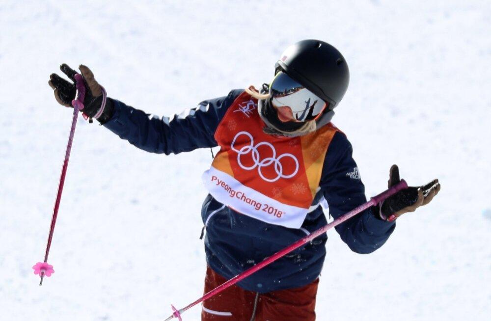 Maggie Voisin Pyeongchangi olümpial.