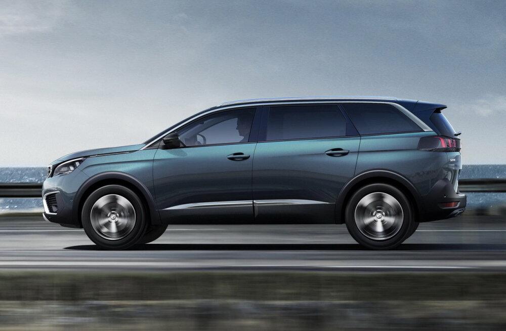Peugeot Pariisi autonäituse väljapaneku keskmes on krossoverid, kroonijuveeliks 5008