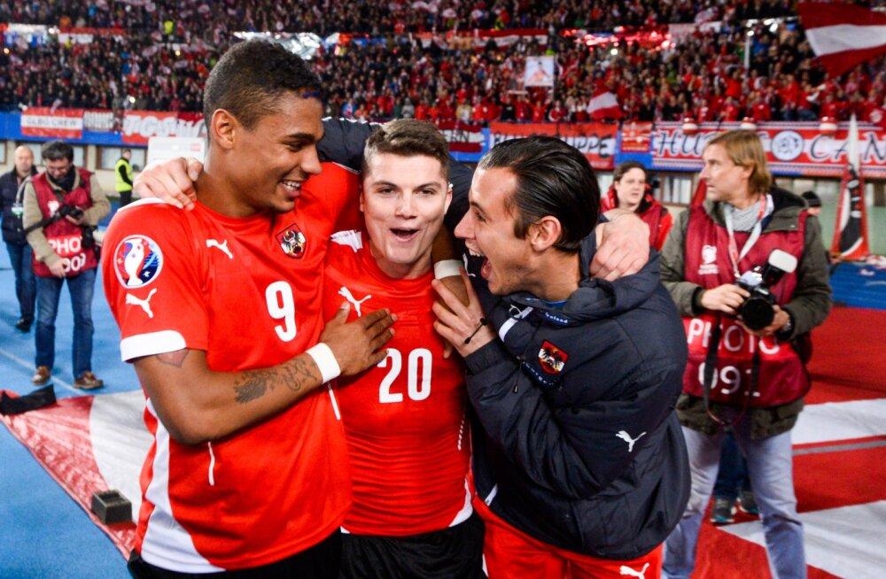 10 päeva jalgpalli EM-ini: Austria turniiril peksupoisiks jääda ei tohiks