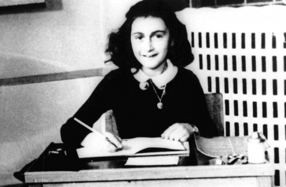 Üks tuntumaid holokaustiohvreid Anne Frank suri varem kui seni arvatud