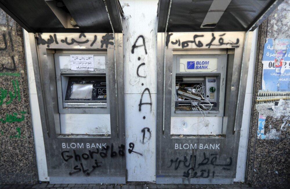 Liibanoni võimud hoiustajatele: paanikaks pole põhjust