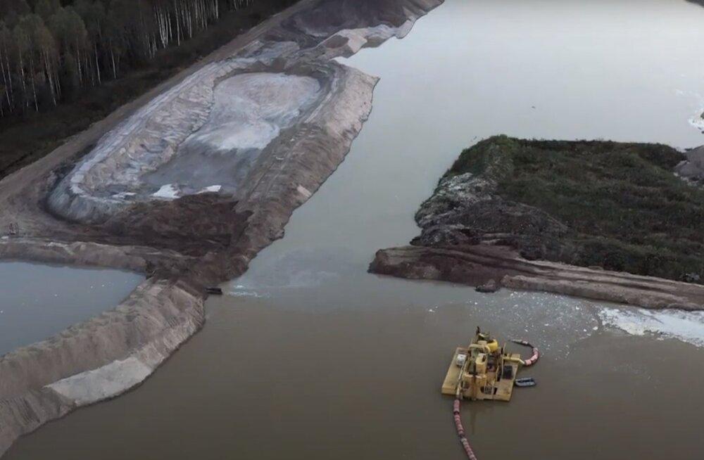 VIDEO | Karjäärid, lageraied, üleujutatud metsad, kahju loodusele - Kose-Võõbu maanteelõigu pahupool