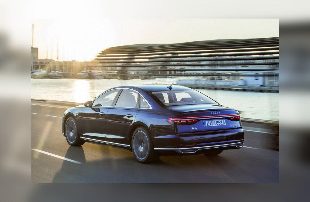 WhatCar.ee proovisõit: küüntest kübaraga Audi A8