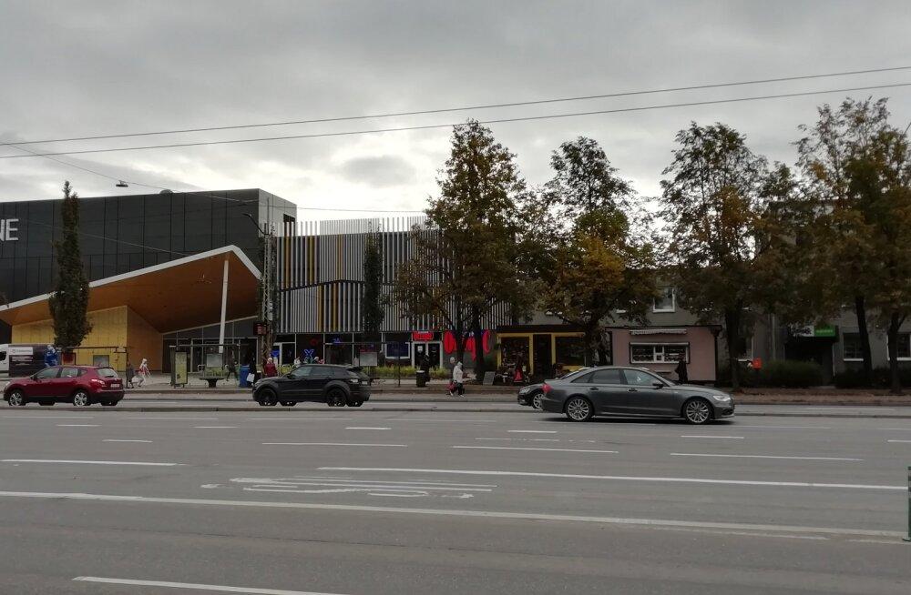 В районе торгового центра Kristiine будет наведен порядок