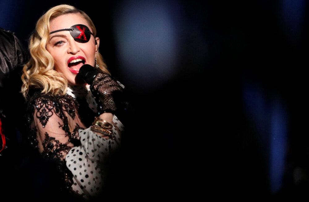 VIDEO | Ilmus Madonna uus graafiline muusikavideo jõulise ja protestiva sõnumiga