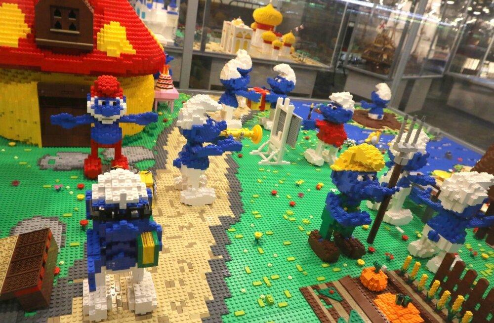 Lego klotsid.