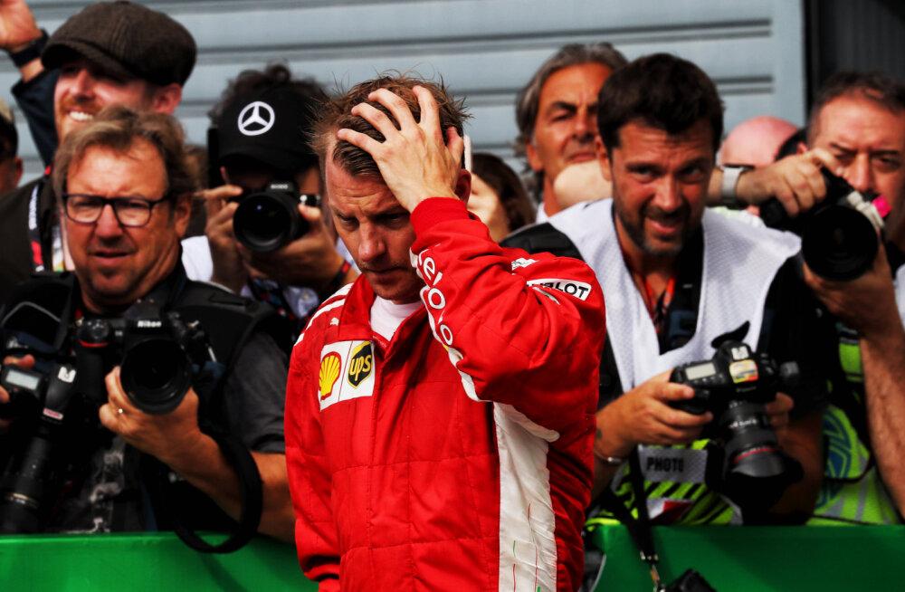 Itaalia meedia: Ferrari edastas Räikkönenile Monzas kurva teate