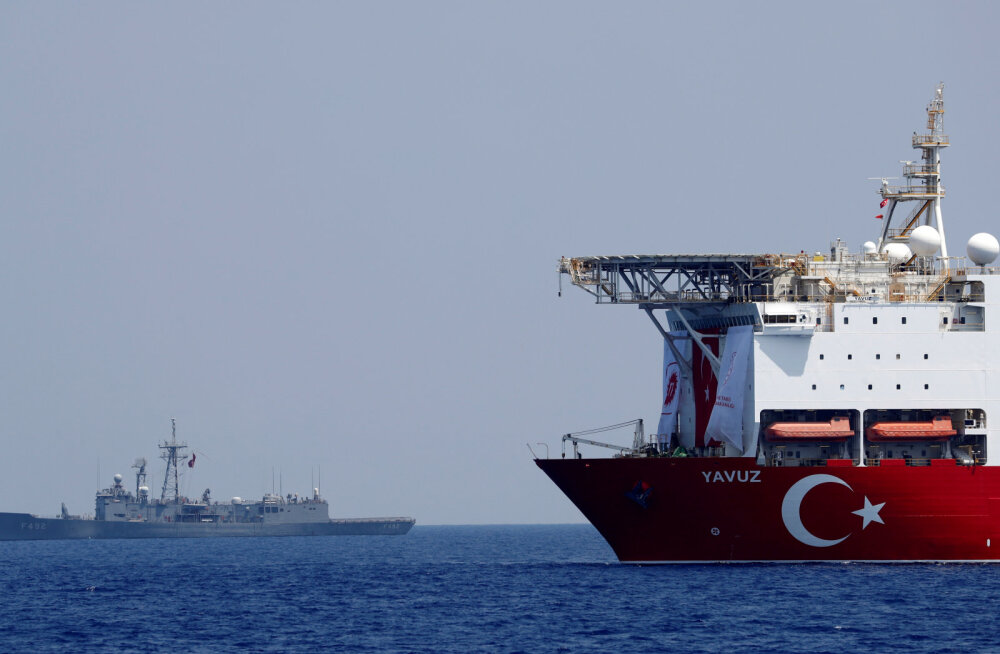 Euroopa Liidu Valgevene sanktsioone hoiab kinni Küprose tüli Türgiga