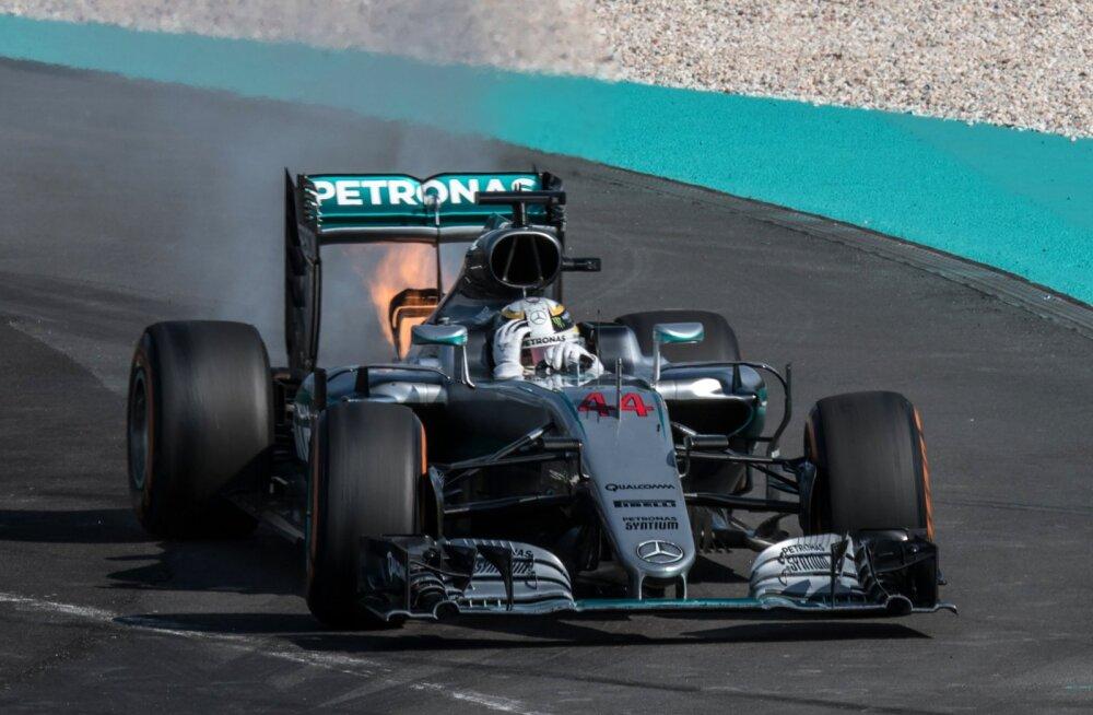 Mercedes avaldas Hamiltoni mootoririkke põhjuse