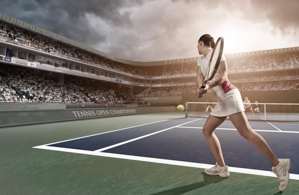 Maailma tenniseparemik kolib savi — liivaväljakutele