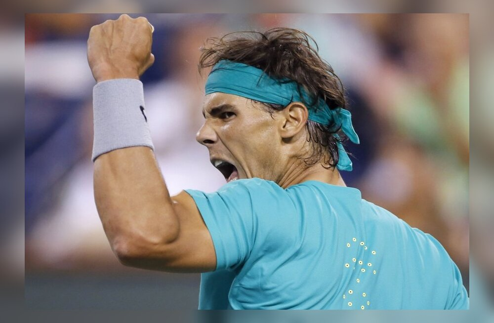 Rafael Nadal loovutas veerandfinaalis vaid kuus geimi