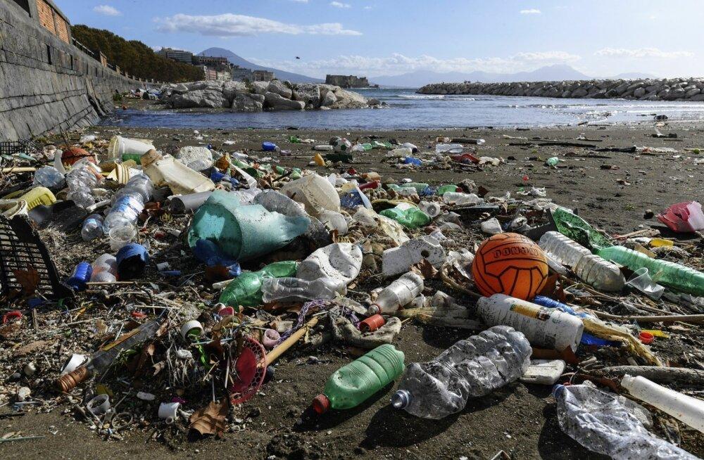Märkimisväärne osa mereprügi on toidutootjate kasutatud plast.