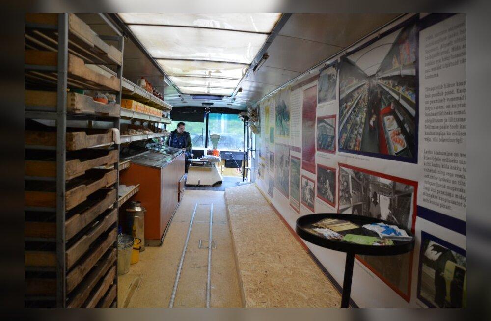 PILDID: pühapäeval avati maanteemuuseumis kauplusbuss ehk lavka