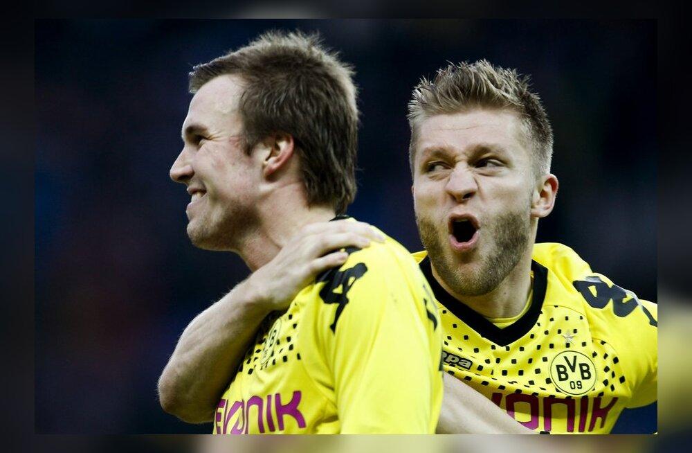 Dortmundi Borussia Kevin Grosskreutz (vasakul)