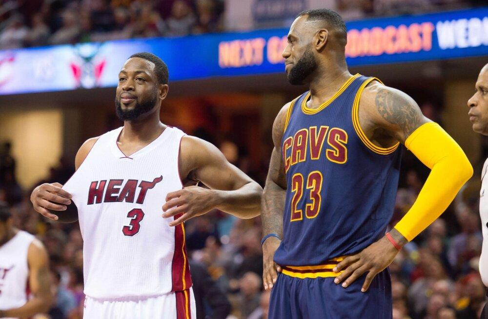 Dwyane Wade taasliitus LeBron Jamesiga
