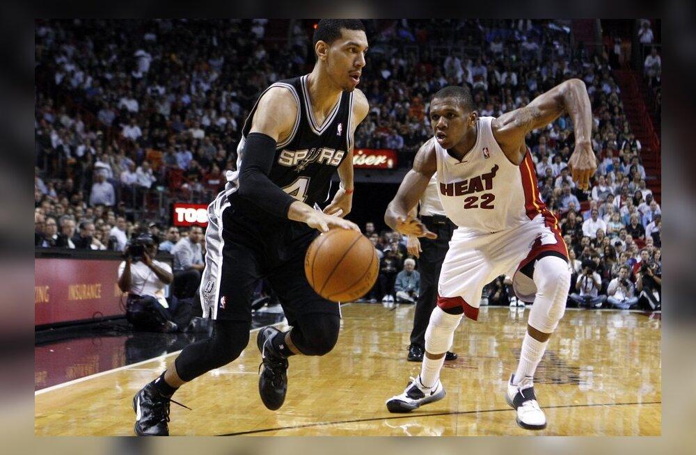 Danny Green palliga, NBA, korvpall