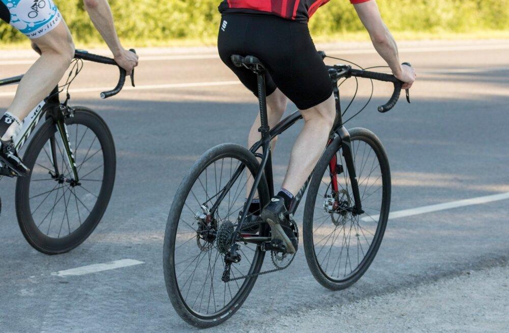 Jalgratturid maanteel