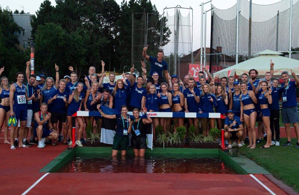 BLOGI | Võimas! Eesti triumfeeris võistkondlikul EM-il ja pääses Euroopa 20 tugevama sekka
