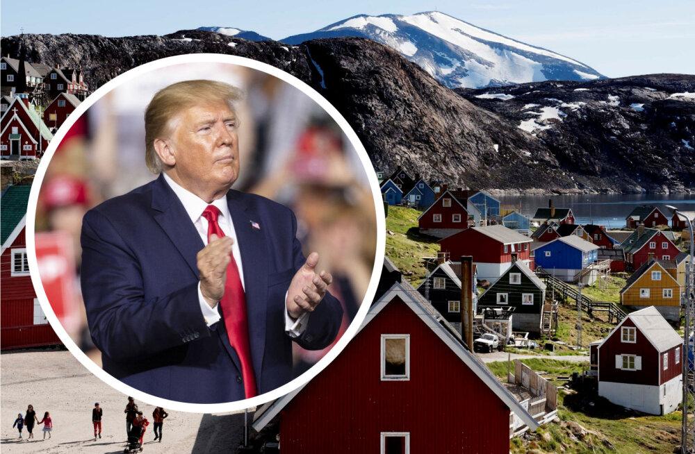 Eriskummaline mõte: Donald Trump tahab Gröönimaa ära osta
