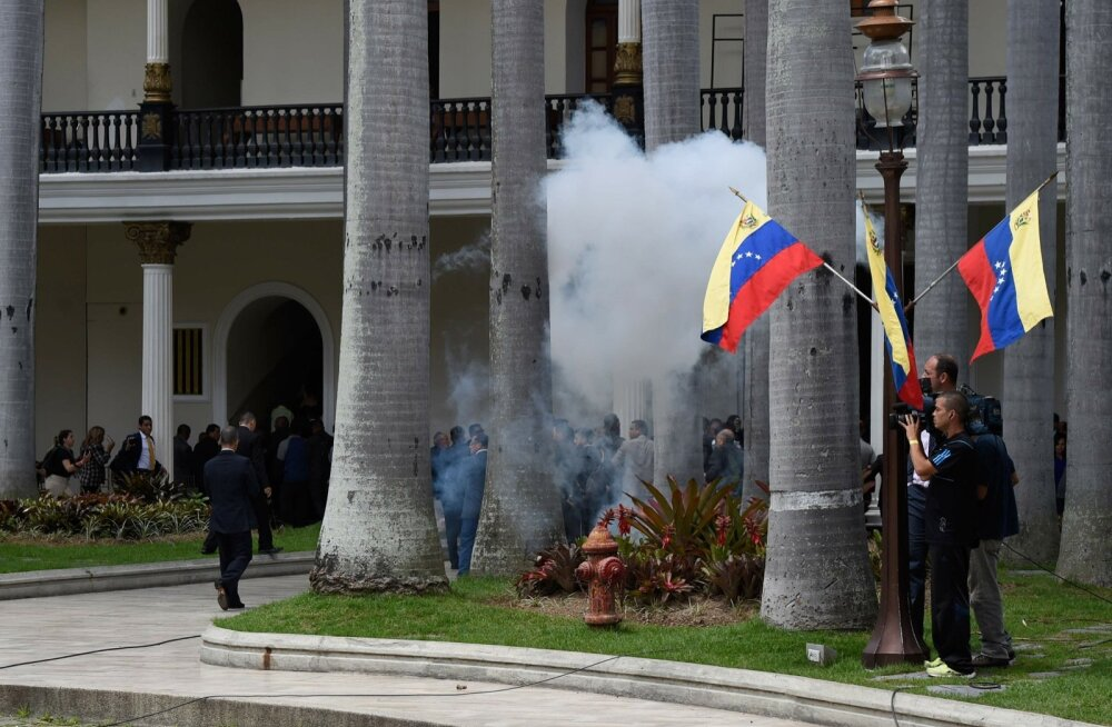 Venezuela parlamendirünnak