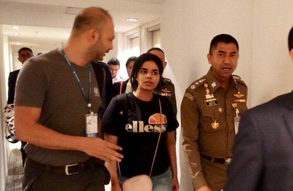 Austraalia lubas pere juurest põgenenud Saudi Araabia naise varjupaigataotlust hoolikalt kaaluda