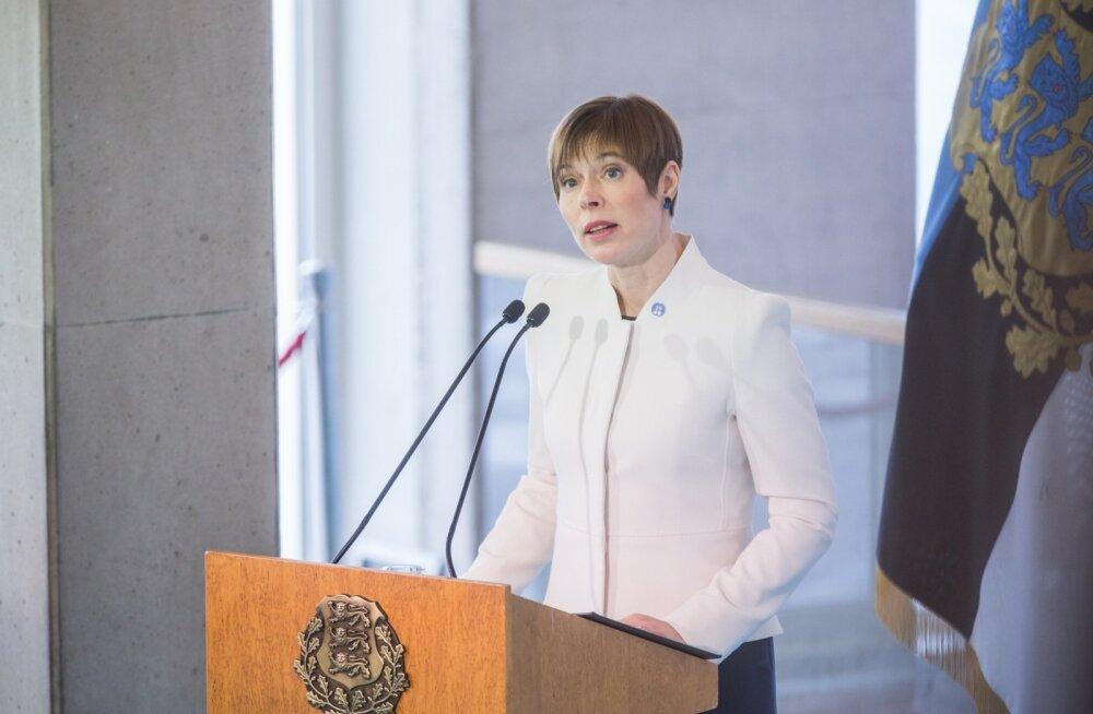 President Kaljulaid: hakkan kõnet mõtlema ja kirjutama aasta alguses